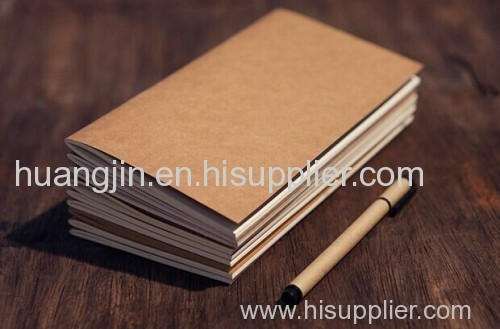 hand account/ travel diary/ brown paper note book
