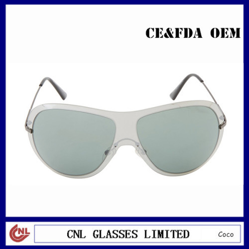 Clear Acetate Sports Sunglasses for Women