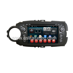 Toyota Yaris 2012 In Car DVD GPS Radio TV Player