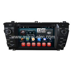 OEM Manufacturer 7 inch In Car DVD GPS Radio TV Player Special for Toyota Corolla 2013-2014