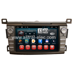 Wholesale Car GPS Entertainment System Special for Toyota RAV4 2013-2014 with Radio TV DVD Wifi