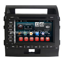 Wholesale Cheap In Car DVD GPS Radio TV Player Android 4.2 System for Toyota Land Cruiser