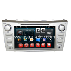 China Factory 8 Inch Capacitive Panel In Dash Car DVD Player Android GPS Radio System for Toyota Camry