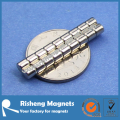 Cylinder Magnet N42 D4 x 4mm with High Gauss Magnet