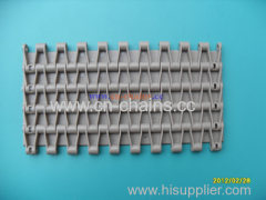 Modular plastic conveyor belt 5935 slat top belt