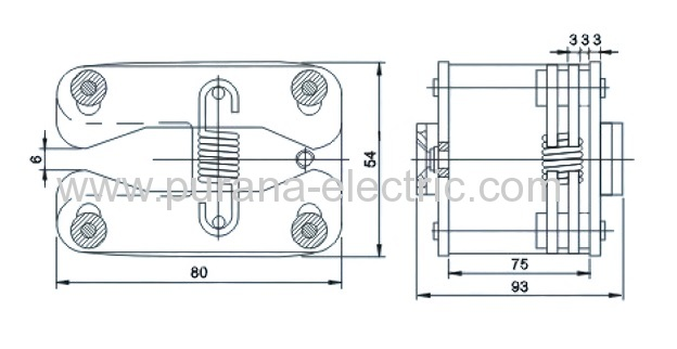 12kv  1250a extension spring flat contact manufacturers and suppliers in china