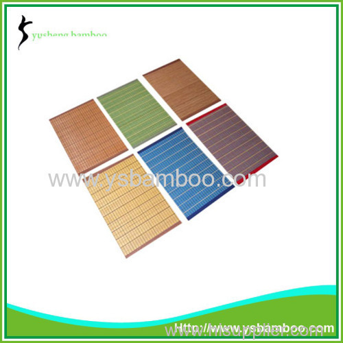 Wholesale Colorful Bamboo Placemats