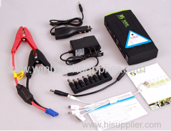 Super Multi-Function 13600mAh Car Battery Charger Jump Starter Mobile Phone Emer