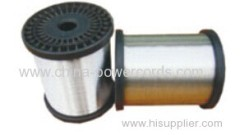 Tinned Copper Alloy Wire (TCA) for conductor or braiding and shielding in flexible coaxial cable