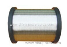 Tinned Copper Clad Aluminum (TCCAΦ0.16mm-Φ1.20mm ) for conductor or braiding and shielding in flexible coaxial cable