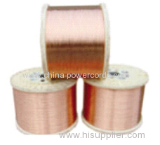 Copper Clad Aluminum (CCAΦ0.16mm-Φ3.0mm ) for conductor or braiding and shielding in flexible coaxial cable