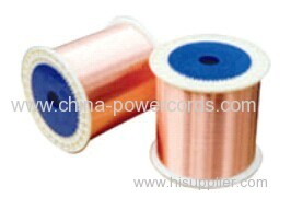 CCS wire (Conductivity 30%) for conductor or braiding and shielding in flexible coaxial cable