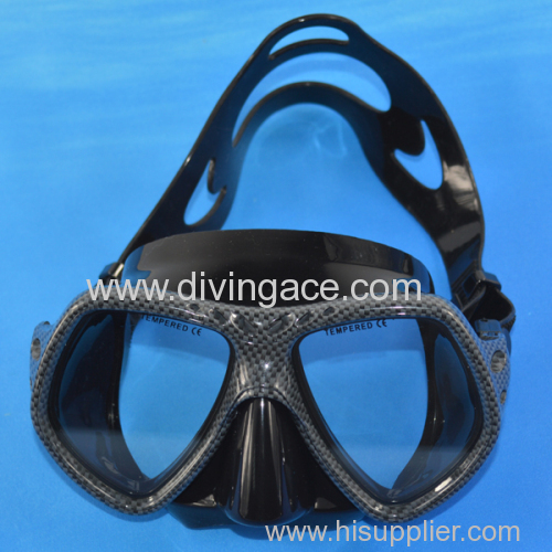 Water sports of diving mask