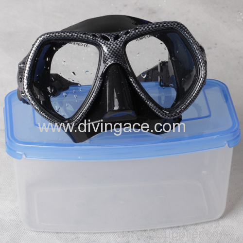 carbon fiber water transfer masks for silicone rubber goggles