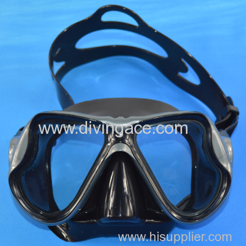 Scuba diving equipment of diving mask
