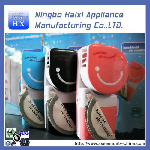 Cute mini handheld air conditioner