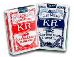high quality large index casino poker cards