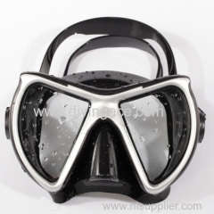 Scuba diving equipment diving mask / liquid silicone diving mask / fashion design of diving mask