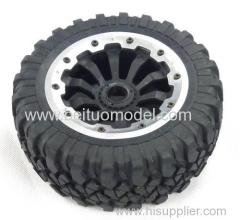High quality all-terrain wheel for 1/5 rc off road truck