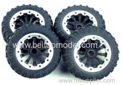 All-terrain tires for 4wd gasoline rc truck