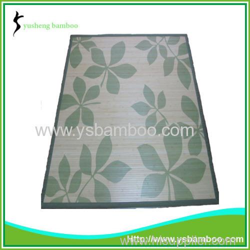 Fashion Printing Design Bamboo Carpet