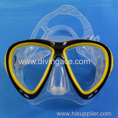China supplier diving mask manufacture in dongguan
