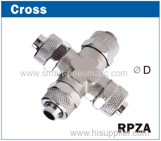 Rapid Brass Fittings -----Cross