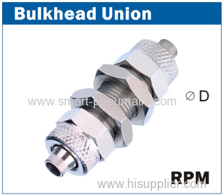Rapid Fittings (RPM)-----Bulkhead Union