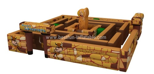 Cheap outdoor labyrinth game