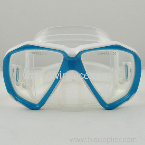 2014 hot sale silicone swimming mask for kids