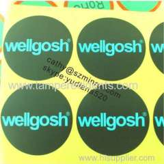 2014 HOTSALE wholesale custom adhesive labels