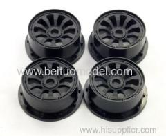 Wheel hub for 29cc racing car