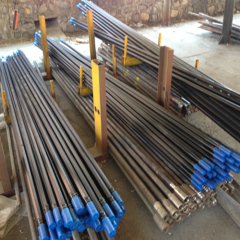 Male-female rock drilling rods
