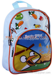 attractive Angry birds school bag backpack