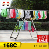 Economic foldable stainless steel butterfly shape garment dryer rack