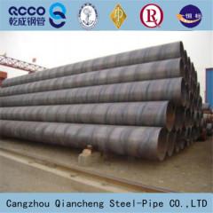 large diameter FBE dsaw spiral steel pipe