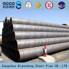 SSAW Spiral Welded Steel Pipe-for Liquid Service-Q195/Q235/Q345/S235JR/S355JRH/ss400/ASTM A36/ASTM A106A