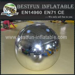 PVC Dould Layer Inflatable Mirror Ball