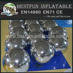 Customized Inflatable Mirror Balls Hanging For Decoration