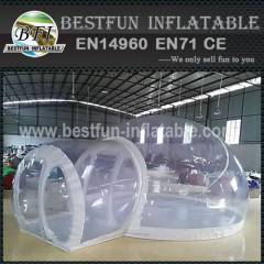 Convenient Clear Inflatable Bubble Camping Tent