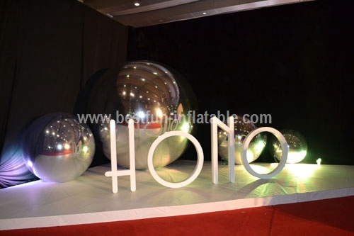 Stage Party Decoration Mirrored Inflatable Ball