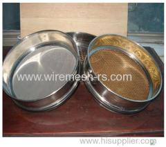 Metal Mesh Laboratory Test Sieve