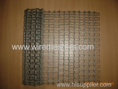 stainless steel flat mesh belt