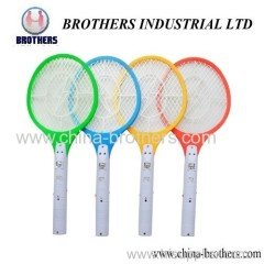 Colorful Rechargeable Mosquito Killer Racket with LED