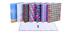 flower color / lever arch / ring binder/ fashion paper file