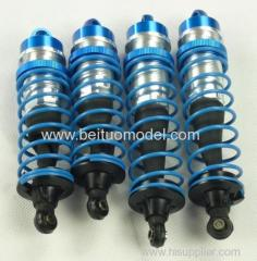 Front and rear shock absorber for racing truck
