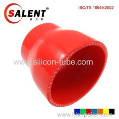 SALENT High Temp Reinforced Silicone Reducer Hoses Red