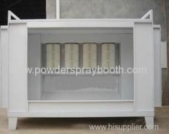 Batch Powder spray booth