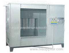 Batch Powder Paint Spray Booths