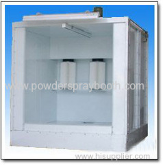 Pulse Cartridge powder coating Booth